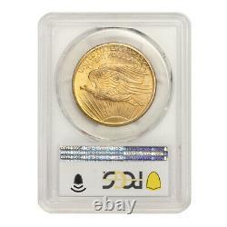 1907 $20 Gold Saint Gaudens PCGS MS66 Gem Graded Double Eagle Coin