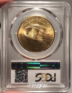 1907 $20 PCGS MS 65 St. Gaudens Gold Double Eagle
