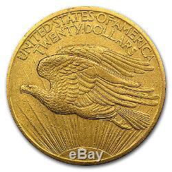 1907 $20 Saint-Gaudens Gold Double Eagle XF SKU #58183