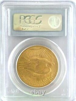 1907 $20 St. Gaudens Gold Double Eagle PCGS MS65