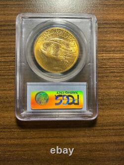 1907-P $20 Gold Saint Gaudens Double Eagle PCGS MS 62 Twenty Dollar Gold RARE
