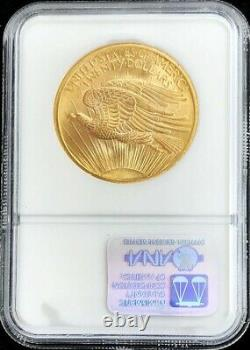 1907 P Gold Us $20 Saint Gaudens Double Eagle Coin Ngc Mint State 64