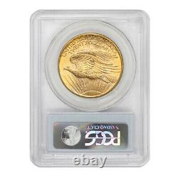 1908 $20 Gold Saint Gaudens PCGS MS64 No Motto PQ Approved Double Eagle