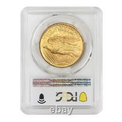 1908 $20 No Motto Gold Saint Gaudens PCGS MS65 NM double eagle gem graded coin
