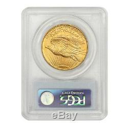 1908 $20 No Motto Saint Gaudens PCGS MS64 NM PQ Approved Gold Double Eagle coin