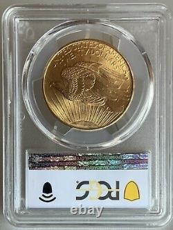 1908 $20 Saint Gaudens Gold Double Eagle NM PCGS MS65! 43340905