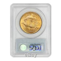 1908 $20 Saint Gaudens PCGS MS67 NM No Motto gem Gold Double Eagle coin