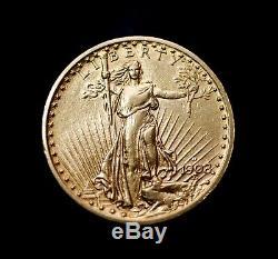 1908-D $20 Saint-Gaudens Gold Double Eagle No Motto
