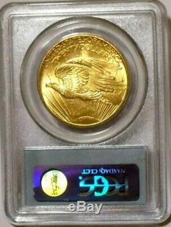 1908 MS64 (+Looks Better+) No Motto OGH PCGS $20 GOLD St. Gaudens US Double Eagle