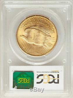 1908 NM $20 Philadelphia St Gaudens GEM Gold Double Eagle PCGS MS66+
