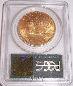 1908 NM $20 Wells Fargo Gold GEM St Gaudens Double Eagle PCGS MS66 OGH