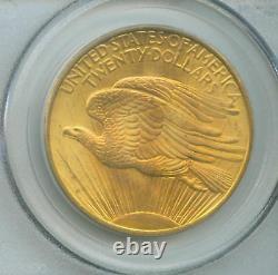 1908 NM NO MOTTO $20 Double Eagle ST. GAUDENS PCGS MS-66 SAINT MS66 STUNNING