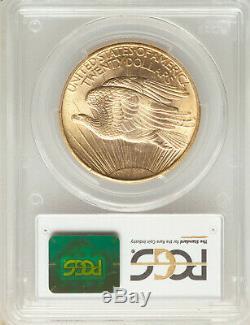 1908 NM No Motto $20 St Gaudens PCGS MS64+ Philadelphia Gold Double Eagle