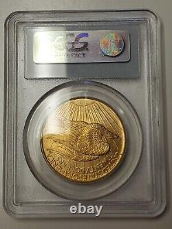 1908 NO MOTTO $20 Gold PCGS MS65 Saint Gaudens Double Eagle