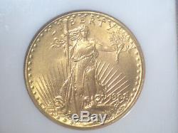 1908 NO Motto WELLS FARGO $20 GOLD NGC MS67 St. GAUDENS DOUBLE Eagle Dollar