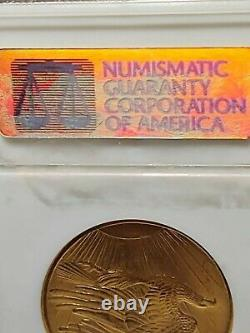 1908 No Motto $20 St. Gaudens Double Eagle Gold Coin NGC MS-62