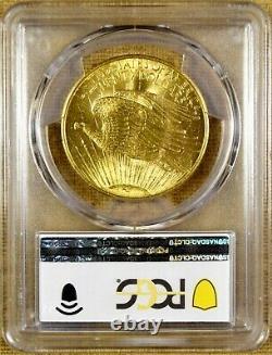 1908 No Motto PCGS MS63 $20 Saint Gaudens Gold Double Eagle (#2)