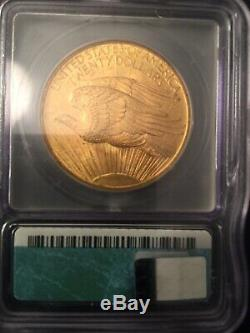 1908 PCGS MS-62 OGH No Motto St. Gaudens $20 Double Eagle Gold Coin