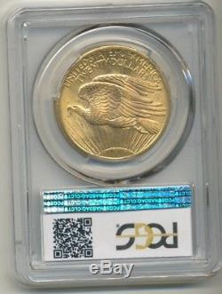 1908 PCGS MS64+ $20 Gold St. Gaudens Double Eagle