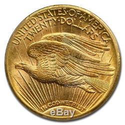 1908-S $20 Saint-Gaudens Gold Double Eagle MS-62 PCGS SKU#77780
