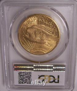 1908-S $20 St Gaudens PCGS AU58 Gold Double Eagle CAC Affirmed, Rare Key Date