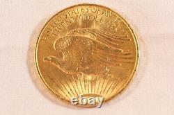 1908 Saint-Gaudens Double Eagle Gold $20 coin No Motto