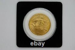1908 Saint Gaudens no motto $20 Double Eagle gold coin