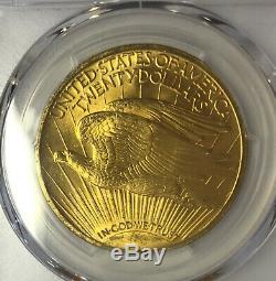 1908 WITH MOTTO $20 PQ Saint-Gaudens Double Eagle PCGS MS64 SUPER RARE BEAUTY