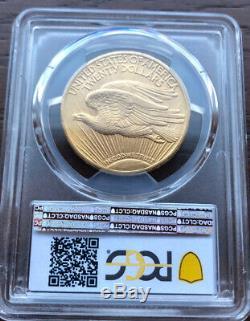 1909/8 $20 St. Gaudens US Gold Double Eagle Coin PCGS AU58