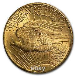 1909-S $20 Saint-Gaudens Gold Double Eagle MS-63 PCGS SKU #11520
