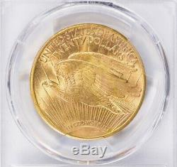 1909-S $20 Saint Gaudens Gold Double Eagle PCGS MS64 Stunning Eye Appeal PQ+