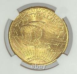 1909-S $20 Saint Gaudens Gold Double Eagle Pre-33 NGC MS62 Great Value Here