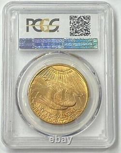 1909-S $20 Saint Gaudens Gold Double Eagle Pre-33 PCGS MS65 A Must Own GEM PQ