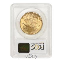 1909-S $20 Saint Gaudens PCGS MS65 CoinStats Best Value Gold Double Eagle coin