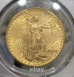 1909-S PCGS MS63 $20 Gold Saint Gaudens Double Eagle
