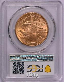 1910 $20 Saint Gaudens Gold Double Eagle PCGS graded MS 63+ Plus