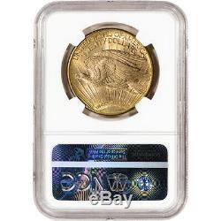 1910-D US Gold $20 Saint-Gaudens Double Eagle NGC MS63