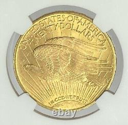 1910-P $20 Saint Gaudens Gold Double Eagle Pre-33 NGC MS64+ CAC Incredible Look