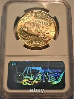 1910 S $20 NGC MS 63 Gold St. Gaudens Double Eagle Better PQ Twenty Dollar Saint