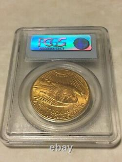 1910-S MS63 PCGS Saint Gaudens Double Eagle $20 Gold Coin PQ great appeal OBL