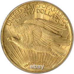 1910 US Gold $20 Saint-Gaudens Double Eagle PCGS MS63