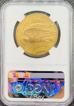 1911-D $20 American Gold Double Eagle Saint Gaudens MS64 NGC Rare/Key Date Coin