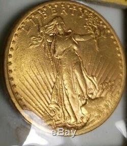 1911 D $20 GOLD Double Eagle St Gaudens UNC CONDITION