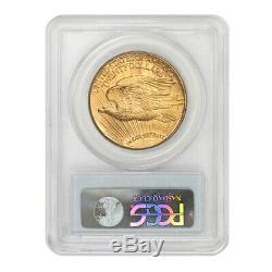 1911-D $20 Gold Saint Gaudens PCGS MS65 gem graded Denver Double Eagle coin