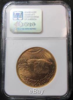 1911-D $20 Saint Gaudens Gold Double Eagle Coin NGC MS65-Beautiful Scarce Gem