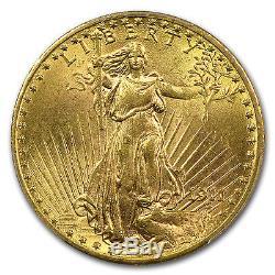 1911-D $20 Saint-Gaudens Gold Double Eagle MS-63 PCGS SKU #10253