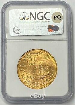1911-D $20 Saint Gaudens Gold Double Eagle NGC MS64 PQ+