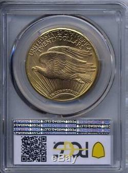1911 D $20 Saint Gaudens Gold Double Eagle PCGS MS 64+ Plus grade