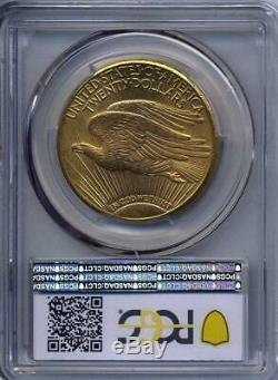 1911 D $20 Saint Gaudens Gold Double Eagle PCGS MS 65+ Plus grade