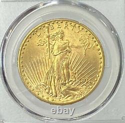 1911-D $20 Saint Gaudens Gold Double Eagle Pre-1933 PCGS MS64 Amazing eye appeal